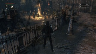 【Bloodborne/ブラッドボーン】<ヤーナム市街攻略・第1夜>ヤーナム市民やわんわんと戯れてみる。【動画あり】