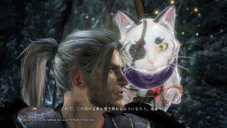 【NIOH/仁王】初回・怨霊鬼討伐完了♪ 猫又さんを守護霊に選択するにはどうしたらいいですか!?