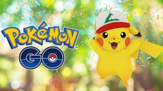 【ポケモンGO】ポケモンGO1周年記念・サトシの帽子を被ったピカチュウが出現します。『しろのポケモンGOブログ』