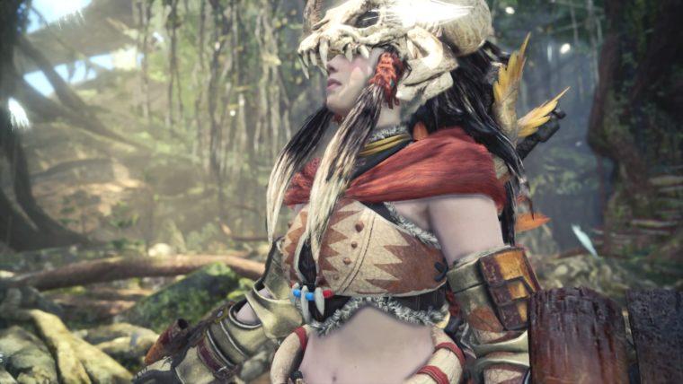 ゲーム中はどこかの女酋長ですが・・。
