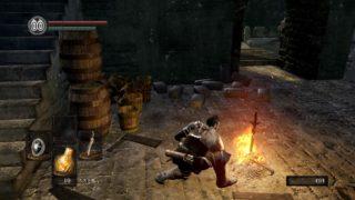【DARKSOULS/ダークソウル リマスター】篝火メニューの注ぎ火とはなんじゃらほい? 生き返ったらカビが生えてました。
