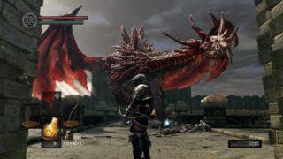 【DARKSOULS/ダークソウル リマスター】序盤ソウル集めに、武器・飛竜の剣ゲット! 飛竜ヘルカイトさんの恩恵を最大限に受ける。