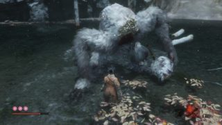 【SEKIRO】獅子猿という名のババコンガ戦、まみれて泣いて怖気づき。…そうだ、お寺行こう♪の巻。