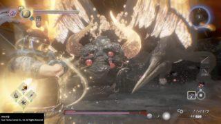 【NIOH2/仁王2】vs牛鬼で大苦戦!! 踏みつけ×ハイドロポンプ=無限瞬殺地獄…。助けて!鬼太郎!カルラ様!! …でござる。