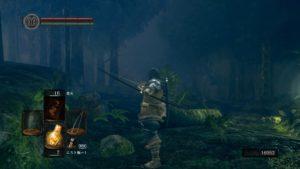 【DARKSOULS/ダークソウル リマスター】黒い森の庭で『ファリスの黒弓』入手!! 弓を縦に構える時代の…終結。